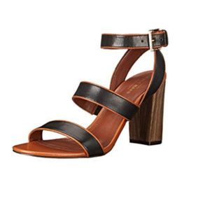 Cole Haan Delilah Open Toe Leather Sandal